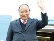 政府总理阮春福抵达老挝 开始出席越老政府间联合委员会第40次会议之行