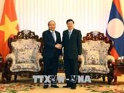 越老两国政府总理共同主持召开越老政府间联合委员会第40次会议