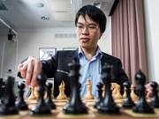 越南棋手黎光廉首次进入世界20强