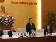 国会副主席丛氏放会见返乡过年的旅泰越南老教师代表团