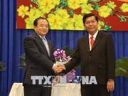 越南隆安省深化与柬埔寨各边境省份的团结友谊