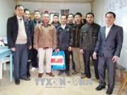 越南驻阿尔及利亚大使范国柱看望慰问在阿工作的越南劳工