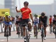 2018年亚洲自行车锦标赛:越南运动员阮氏实夺金