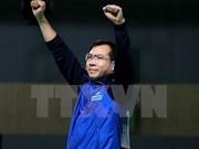 男子10米气手枪世界最新排名:越南射击运动员黄春荣居第二位