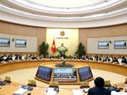 越南政府2018年1月例行会议决议:力争在各行业各领域创造新突破