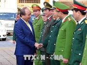 越南政府总理阮春福到岘港市拜年