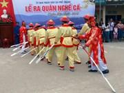 广义省渔民初春出海捕捞作业