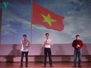 在莫斯科外国留学生对越南文化深感兴趣