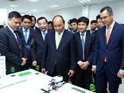 阮春福总理:和乐高科技园区将成为首都河内最好的创业地