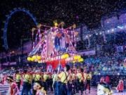 越南参加新加坡最具规模的妆艺大游行