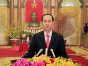 越南国家主席陈大光和夫人即将对印度和孟加拉国进行国事访问