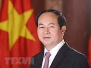 国家主席陈大光欢迎印度的各发展倡议