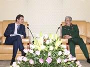 进一步加强越南与欧盟的防务合作