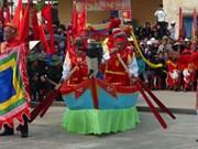 越南广平省景阳求鱼节热闹开幕