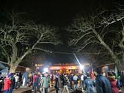 数万名游客涌入南定省参加2018戊戌年陈祠开印仪式