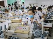 今年前两月承天顺化省纺织品服装出口额同比增长25.2%