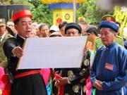 海防市盟誓节被列入国家非物质文化遗产名录