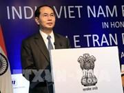 陈大光出席越南与印度企业论坛:让我们共同开创更加灿烂的未来