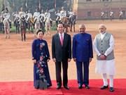 越南印度发表联合声明 强调加强各领域的合作