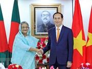 越南与孟加拉国就陈大光对孟加拉国进行国事访问发表联合声明