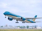 越航增加胡志明市飞往新加坡和台北航班班次