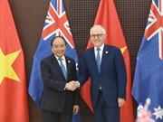 越南与澳大利亚力争实现2020年双边贸易额提升至100亿美元