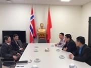 越南劳动总联合会代表团访问挪威