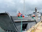 秋江总公司向国外客户交付登陆/补给舰