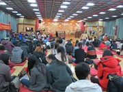 旅韩越南佛教信徒举行新春祈福法会