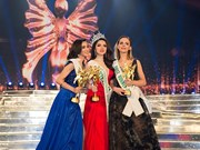 2018国际皇后小姐决赛越南佳丽阮香江夺冠