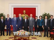 俄罗斯联邦共产党代表团对越南进行工作访问