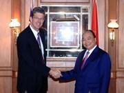 越南政府总理阮春福会见新西兰各家乳制品企业领导