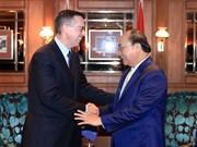 政府总理阮春福会见新西兰各家企业领导
