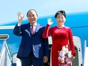 越南政府总理阮春福抵达堪培拉  开始对澳大利亚进行正式访问