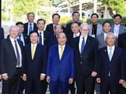 政府总理阮春福走访澳大利亚国立大学