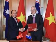 越南与澳大利亚发表关于建立两国战略伙伴关系的联合声明