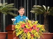 第九届胡志明市人民议会第七次会议在胡志明市拉开序幕