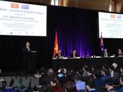 阮春福出席越南—澳大利亚企业论坛