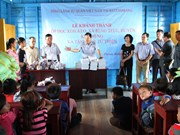 柬埔寨越侨水上学校工程项目正式竣工落成