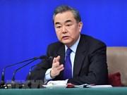 越南政府副总理兼外长范平明致电祝贺中国国务委员兼外交部长王毅