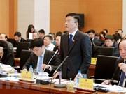 国会常委会第22次会议:司法部部长黎成龙接受质询