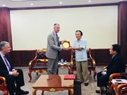 美国海外战争退伍军人协会访问越南