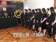 各国大使及各国际组织代表悼念越南前政府总理潘文凯