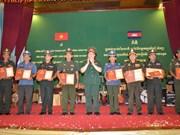关于越柬建交50周年的艺术创作大赛颁奖仪式在金边举行