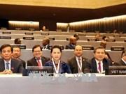 国会主席阮氏金银出席议联第138届大会全体会议