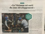法国报刊高度评价越南经济发展成就