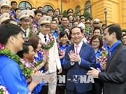 国家主席陈大光:青年一直是先锋力量