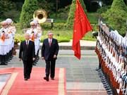 越古两国人民都是两国特殊关系发展的贡献者