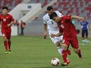 2019亚洲杯预选赛:越南队客场战平约旦队