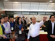 越南政府总理阮春福出席GMS-6和CLV-10彩排活动